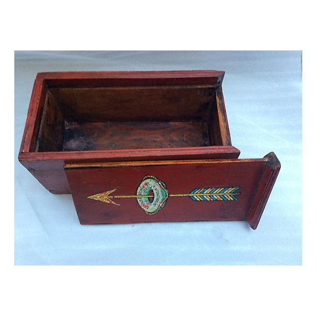 Ship's Antique Mystery Box For Sale - Image 7 of 9