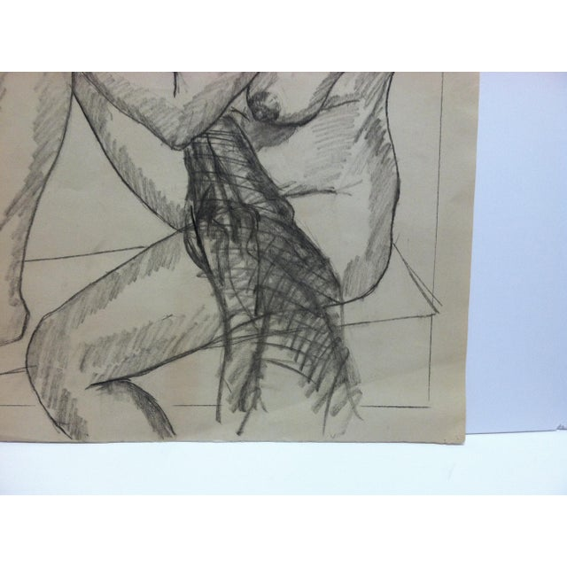 1965 Vintage Carol Wayne Tom Sturges Jr. Drawing | Chairish