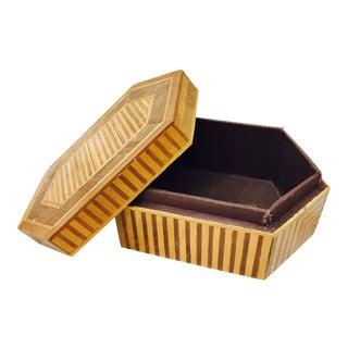 Antique Handmade Wooden Box