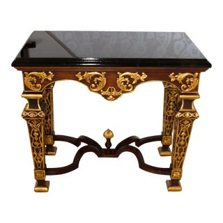 1980s Vintage Louis IV Style Hall Table For Sale