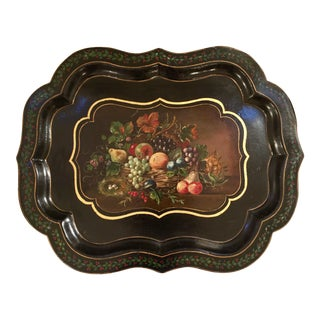 19th Century Traditional Paper Mache Tray