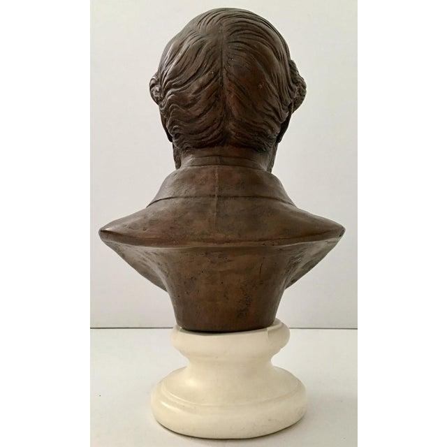 Vintage Ulysses S. Grant Bust Sculpture - Image 4 of 8