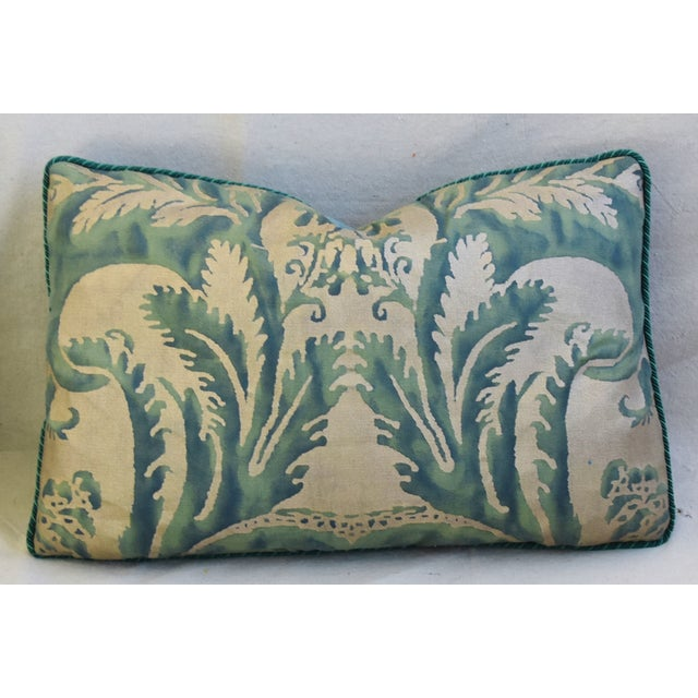 Early 21st Century Italian Mariano Fortuny Feather/Down Accent Pillows - Pair For Sale - Image 5 of 13