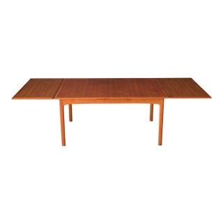 Vintage Scandinavian Teak Extension Dux Dining Table by Folke Ohlsson For Sale
