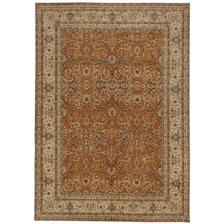 "Hand Knotted Indian Rug - 9'10""x 13'10"" For Sale"