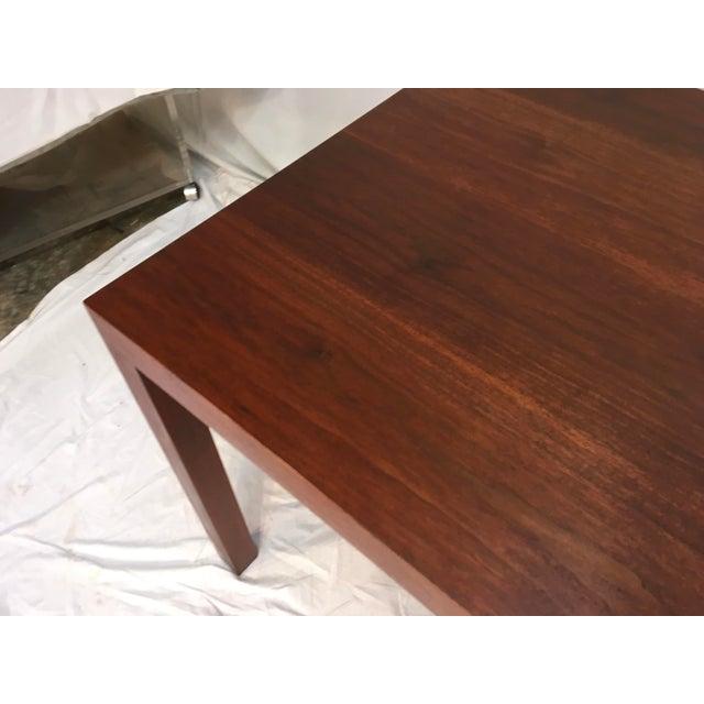 Edward Wormley Walnut Side Table - Image 9 of 11