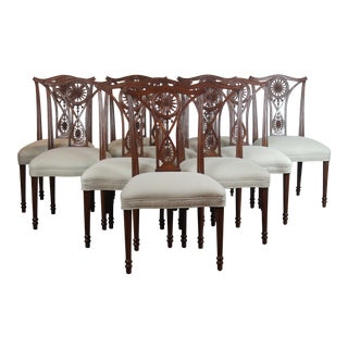 Late 20th Century Dining Chairs - Set of 10 For Sale