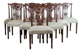 Image of Mahogany Dining Chairs