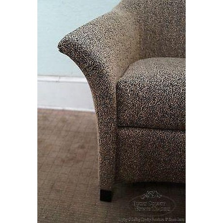 Thomasville Casa Bique Leopard Print Club Lounge Chair For Sale - Image 12 of 13