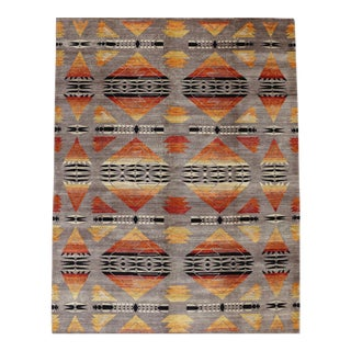 Pendelton Rug, Navajo Design, 9' X 11'10 For Sale