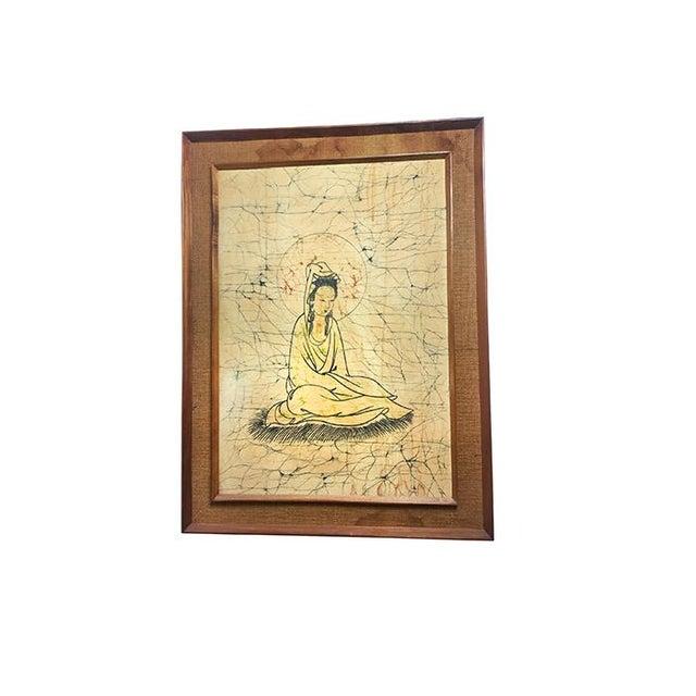 Vintage Bodhisattva Guanyin Framed Art - Image 2 of 4