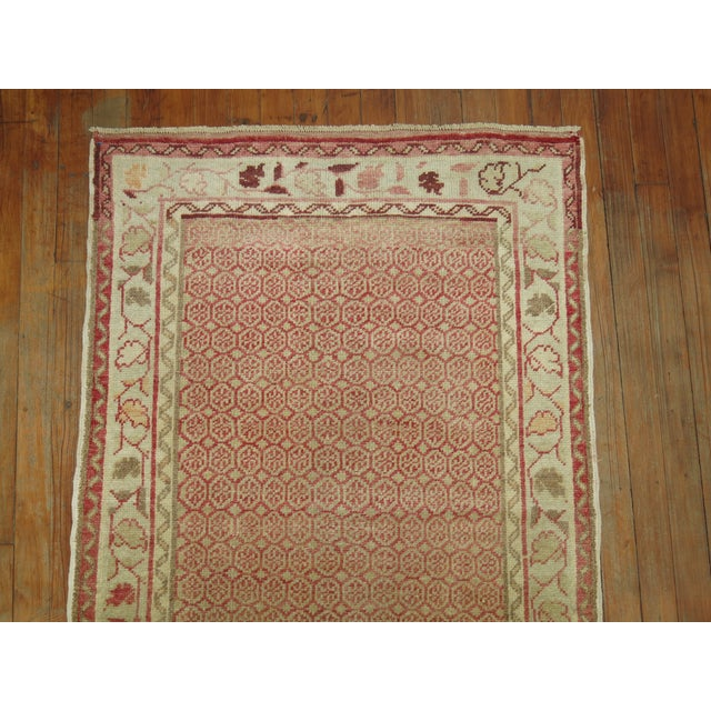 Antique Turkish Anatolian Runner Rug- 2'9'' X 9'3'' For Sale In New York - Image 6 of 7