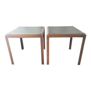 Crate & Barrel Bunching Tables - a Pair