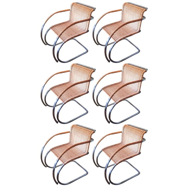MCM Mies Van Der Rohe - Mr 20 Chairs - Set of 6 - Image 2 of 13