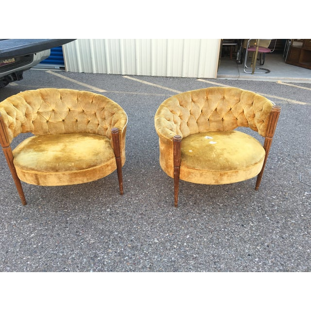 Asymmetrical Deco Chairs - Pairs - Image 2 of 3