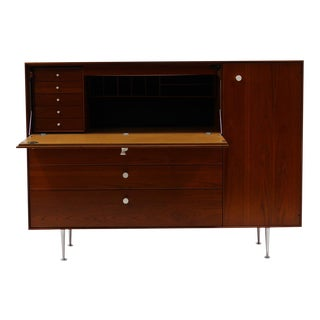 George Nelson Thin Edge Secretary Desk for Herman Miller For Sale