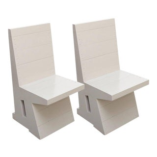 Dom Hans van der Laan Pair of Easy Chairs