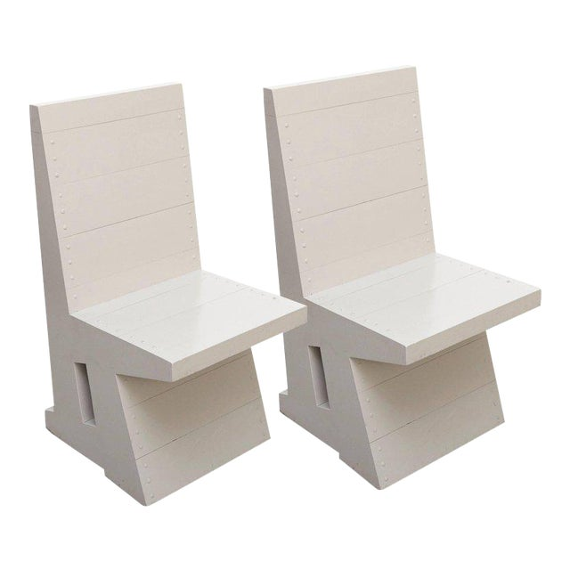 Dom Hans van der Laan Pair of Easy Chairs - Image 1 of 11
