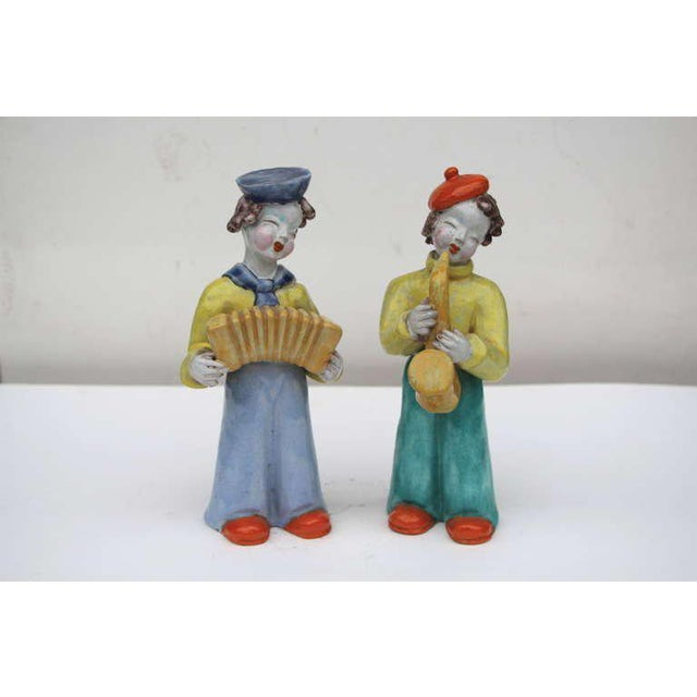 Figures by Hungarian Maria Rahmer- A Pair For Sale - Image 9 of 9