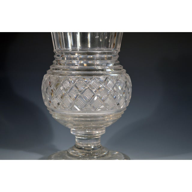Early 19th Century Regency Glass Large Celery Vase, Circa 1820. For Sale - Image 5 of 7