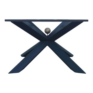 Invictus Steelworks Metal Dining Table Base For Sale