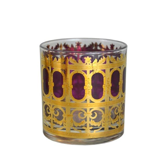 Vintage Metallic Gold Cocktail Glasses - S/4 - Image 2 of 4