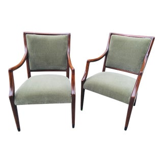 Mid Century Danish Modern Arm Chairs - a Pair For Sale