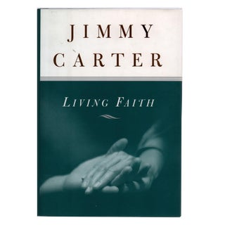 "1996 ""Signed Edition, Living Faith"" Collectible Book For Sale"