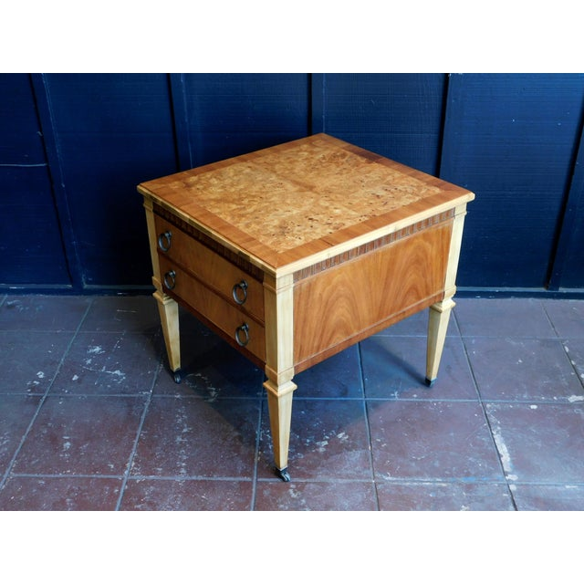 1960s 1960s Classic Wooden End Table For Sale - Image 5 of 11
