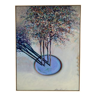 Can Trees Look Like a Family, an Acrylic Painting by Jeff Tabor For Sale