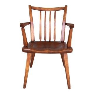 Cushman Colonial Creations Longmeadow Arm Chair (Model 5431 A) For Sale