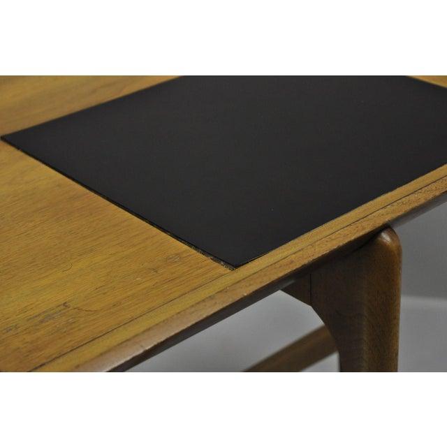 John Keal Brown Saltman Mid-Century Danish Modern Sculptural Walnut Side Table For Sale - Image 11 of 12