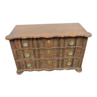 Heritage Grand Tour Serpentine Commode For Sale