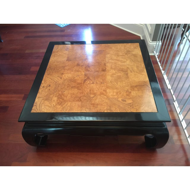 Ethan Allen Chinoiserie Coffee Table - Image 2 of 10