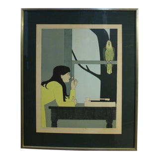 """""""Silent Season- Spring"""" Print by Will Barnet For Sale"""