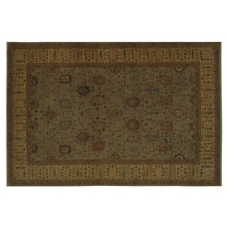 """Stark Studio Rugs Traditional Oriental Wool and Silk Rug - 11'9"""" X 18' For Sale"""