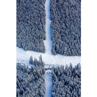 """""""Give Way"""" Contemporary Winter Landscape Photograph For Sale"""