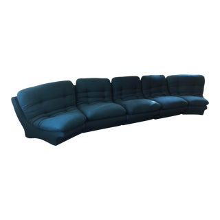 Vladimir Kagan Sectional Sofa- Five Pieces For Sale