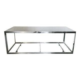1970s Mid-Century Modern Rectangular Table For Sale