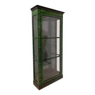 Collector's Edition Baker Furniture Display Cabinet For Sale