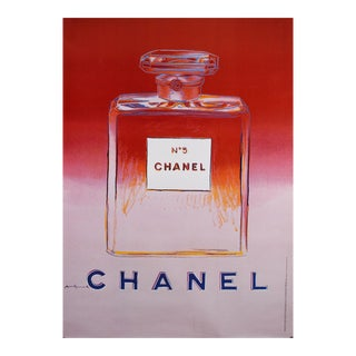 Andy Warhol Chanel No 5 Poster