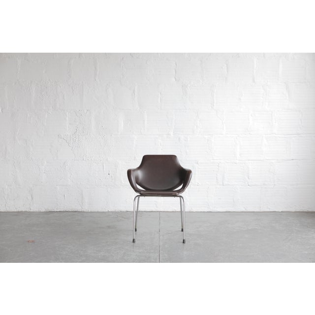 Vintage Mid Century Huonekalutehdas Sopenkorpi Finish Chair For Sale - Image 4 of 9