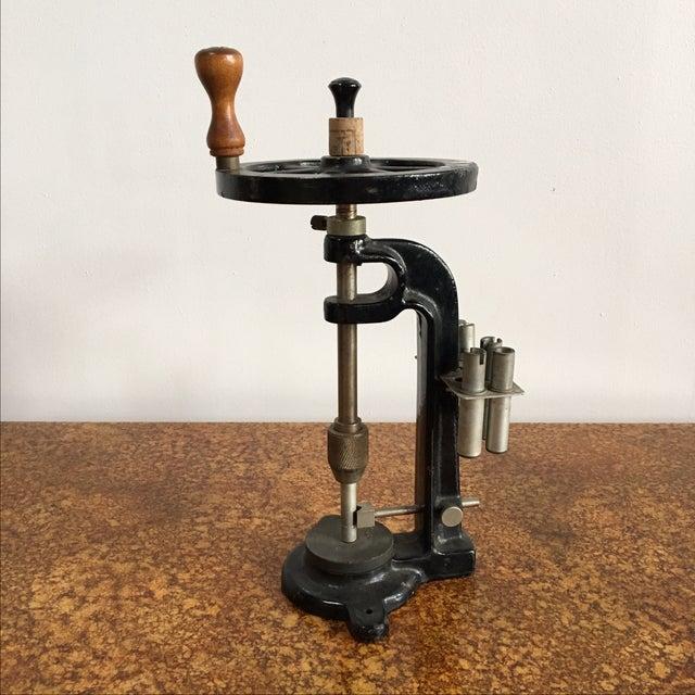 Antique Industrial Scientific Press - Image 2 of 4