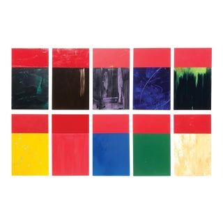 """""""10 for j.a. (Josef Albers) by Tim Townsley (1944 - 2018) For Sale"""