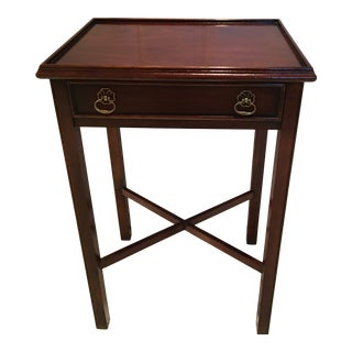 Vintage Drexel Heritage Accent Table For Sale