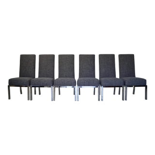 Milo Baughman Dining Chairs for Dia - Set of Six For Sale