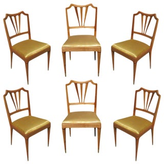 Formal Mid-Century Dining Chairs - Set of 6