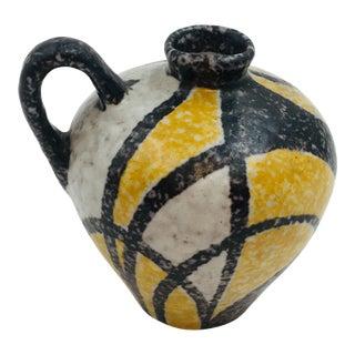 "1950s Vintage Mid Century Modern Ruscha Keramik ""Milano"" Decor Miniature Vase For Sale"