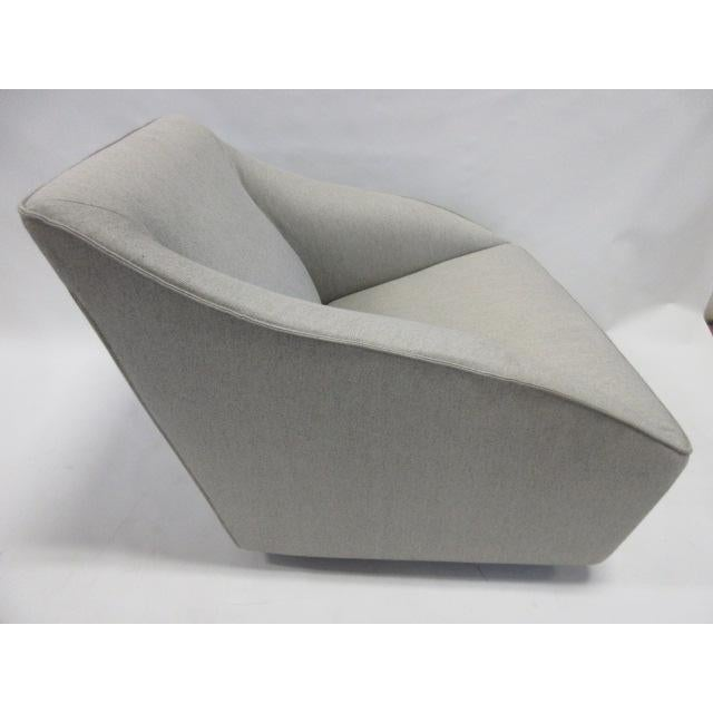 Gray Molteni Doda Low Armchair For Sale - Image 5 of 10