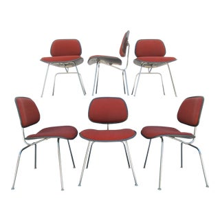DCM Chairs by Eames for Herman Miller - Set of 6